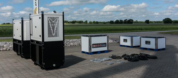 Hybrid generatoranlæg